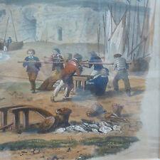 Litografia tirpenne et Jules GAILDRAU, Imp. Lemercier Parigi per 1850, ORIGINALE