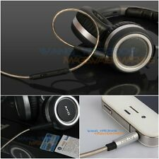 Upgrade Cable For AKG K450 K451 K452 Q460 K480 Remote Mic Fit All Smartphone