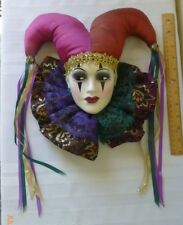 Unique Creations Jester Wall Hanging Decor Signed and Numbered