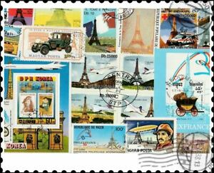Eiffel Tower : 20 Different Stamps Collection