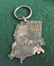 Grand Teton National Park Keychain Key Fob