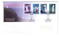 "2002 FDC. Australia. Lighthouses of Australia. PictPMK ""BEACON"""