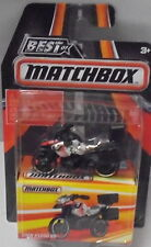 KKar Matchbox - 2016 Best of Matchbox - BMW R1200 GS Motorcycle - Black & Silvr