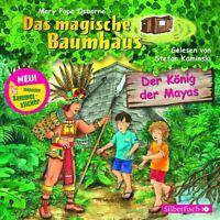 DAS MAGISCHE BAUMHAUS - DER KÖNIG DER MAYAS  CD NEU
