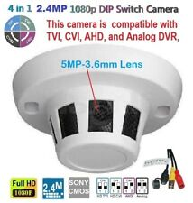 Tvi,Ahd.Cvi.analog 4in1 2.4Mp 1080p 5Mp Lens Motion Detector styled Spy Camera