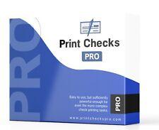 Print Checks Pro -Complete Check Printing Software Kit w/ Blank Check stock