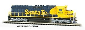 N Scale SANTA FE DCC & SOUND EQUIPPED SD45 Locomotive BACHMANN New 66454