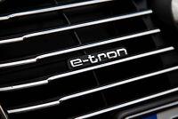 "New Genuine AUDI A3/S3 (13-17) Front Bumper Radiator Grill ""E-TRON"" Badge OEM"