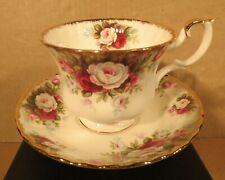Royal Albert Celebration Teacups and Saucers Made in England