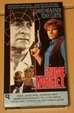 Prime Target VHS Tape Action Hemdale Video David Heavener Issac Hayes 1991 Movie
