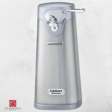 Electric Can Opener Stainless Steel Lid Opener Countertop Appliance Cuisinart
