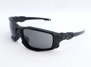 Oakley SI BALLISTIC SHOCKTUBE OO9329-01 Sunglasses - Matte Black/Grey