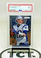 2014 Panini Prizm NFL Football Tom Brady PSA 9 New England Patriots
