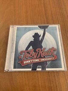 Keith Toby - Honkytonk University - CD Album VGC