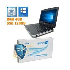 """PC DELL LATITUDE E5430 I5 3320M 14"""" RAM 4GB SSD 120GB HDMI TASTIERA ITA GRADO B-"""
