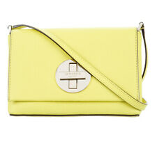 KATE SPADE NEWBURY YELLOW LEATHER HANDBAG SHOULDER CROSS BODY BAG RRP £145 NEW!