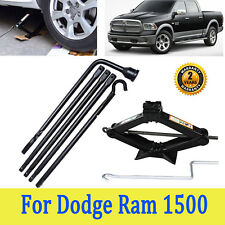 Spare Tire Lug Wrench Tools For (02-15) Dodge Ram 1500 And 2 Tonne Scissor jack