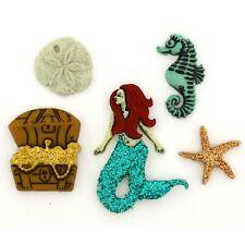 Jesse James Buttons ~ Dress It Up ~ SEA SIREN 10528 Sew Crafts Scrap