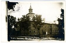 Jersey Shore PA - HIGH SCHOOL BUILDING - RPPC Postcard