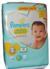 Pampers Size 2 Nappy 4-8kg 68 Disposable Nappies
