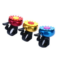 1pc Bicycle Bell Chrysanthemum Bell Cycling Ring Alarm for Handlebarfw
