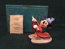 "WDCC Fantasia - Sorcerer Mickey ""Mischievous Apprentice"" New in Box"