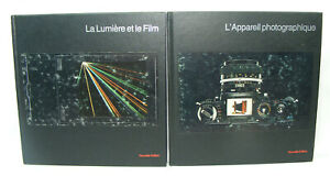 Lot de 2 livres TIME LIFE LA PHOTOGRAPHIE 1981 Appareil Photo / Lumiere et Film