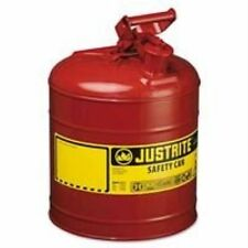 """Justrite 7150100 Type I Safety Can, 5 Gal, 11-3/4""""X 16-7/8"""", Self-Venting, Steel"""