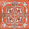 C#105) MEXICAN TILES CERAMIC HAND MADE SPANISH INFLUENCE TALAVERA MOSAIC ART