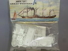 "AIRFIX UNMADE BLUE STRIPE BAG KIT MODEL No.141  PS ""GREAT WESTERN""  VN MIB  RARE"