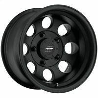 Pro Comp 69 Series Vintage, 15x10 Wheel with 5 on 4.5 Bolt Pattern - Matte Black