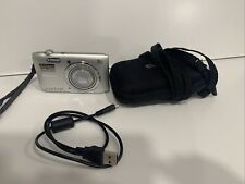 Nikon COOLPIX S3600 20.1MP Digital Camera - Silver - 16GB Memory W/ Case