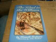 The Wind in the Willows by Kenneth Grahame HB Book W/DJ,VG-Shape,1987.