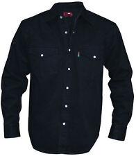 Camisas casuales de hombre en color principal negro talla XL