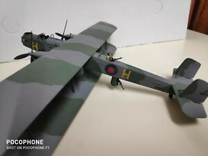 Airfix Modellbausatz Handley Page WWI 1:72 gebautes Modell