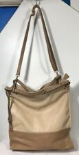 David Jones Gorgeous Two Tones Large Tote PV Gold hardware