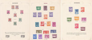 Seychelles. Fine mint selection hinged on three pages.