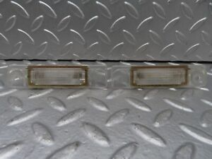⚙15173⚙ Mercedes-Benz W140 S320 Number Plate Lights Pair 1408200156