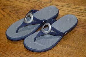 Crocs Women's Sanrah Style Thong Flip Flop Sandal  Size 10 W