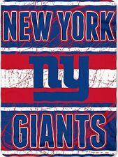 New York Giants blanket bedding 90x66 XXL FREE SHIPPING NFL Giants throw