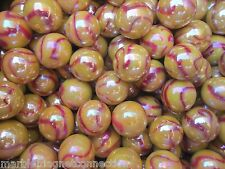 Marbles 2 Pounds Of 5/8 Inch Sun Mega Marbles Free Shipping