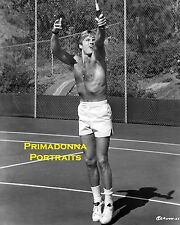 ROBERT REDFORD 8X10 Lab Photo 1960'S Tennis Active SPORTS Working Out Sexy Actor