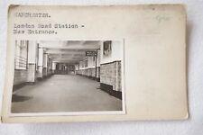 More details for c1920s lner manchester london road station railway photo & negative publicity 2