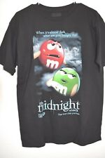 New M&M's The Midnight Snack! Black Adult M T-Shirt
