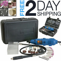 Dremel Tool Kit 100 Piece Set Variable Speed Rotary Grinder Cutter Accessories