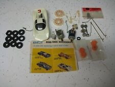 VINTAGE 1/32 SCALE ELDON CHAPARRAL SLOT CAR Plus Parts