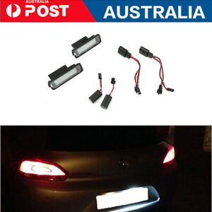 Canbus LED Licence Number Plate Lights For VW Passat CC Polo GTI Golf MK4/5/6