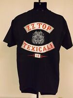 "NEW ZZ TOP ""TEXICALI TOUR"" SIZE M-L-2XL CONCERT T-SHIRT"