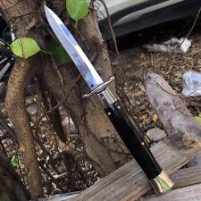Couteau ouverture automatique Noir de Chasse Avec Étuis