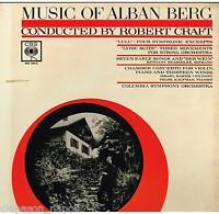 Berg : Suite Sinfonische Von Lulu , Lyrik, Etc Craft, Baker, Kaufman LP CBS